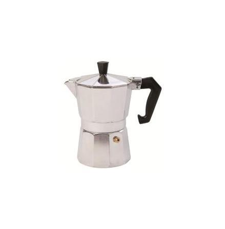 Espressobryggare aluminium