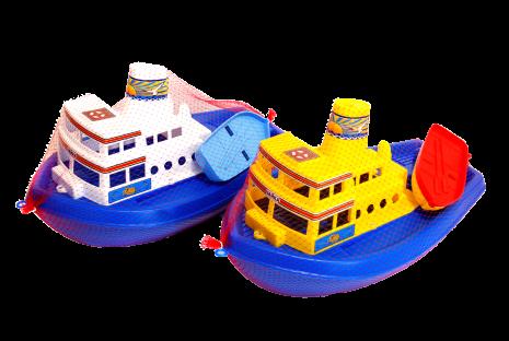 Båt 33 cm med extra båt
