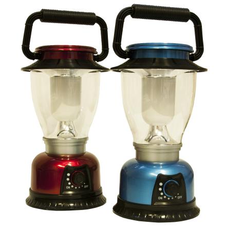 Camping lampa LED 22 cm