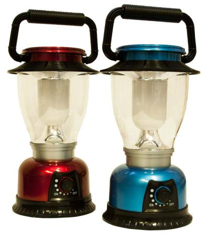 Camping lampa LED 16cm