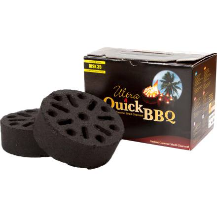 Grillbriketter Quick BBQ 5-pack
