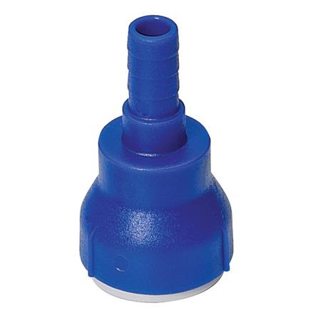 UNIQUICK rak övergång 12-10 mm rör-slang
