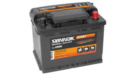 Startbatteri, Exide 62 Ah