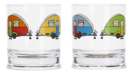 Love Caravan Glas
