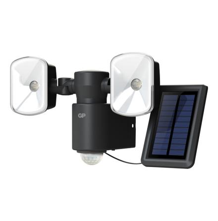 LED spotlight med solcell
