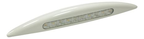 LED vägglampa Luce Esterna