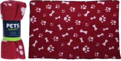 Hund Filt Fleece 77x55cm