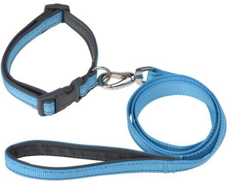 Hundhalsband & Koppel M  4 färger