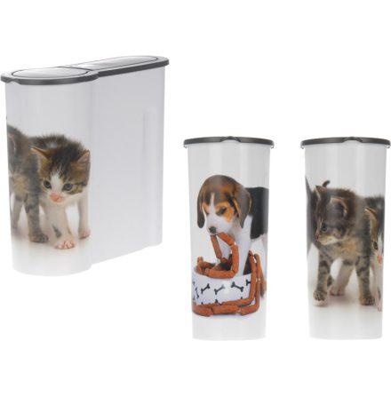 Matbunke Hund & Katt  253x118x256mm