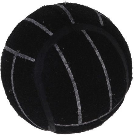 Tuggleksak hund. Tennis Boll 75mm B&W