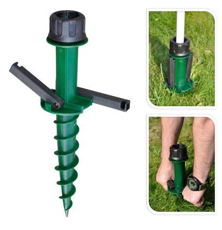 Parasollfot Screw, 22-33 mm rör