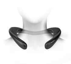 Halshögtalare med Bluetooth 2x 4.5 W   Blåtand 5.0